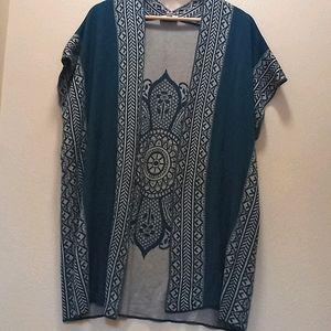 Great northwest indigo sweater (866)